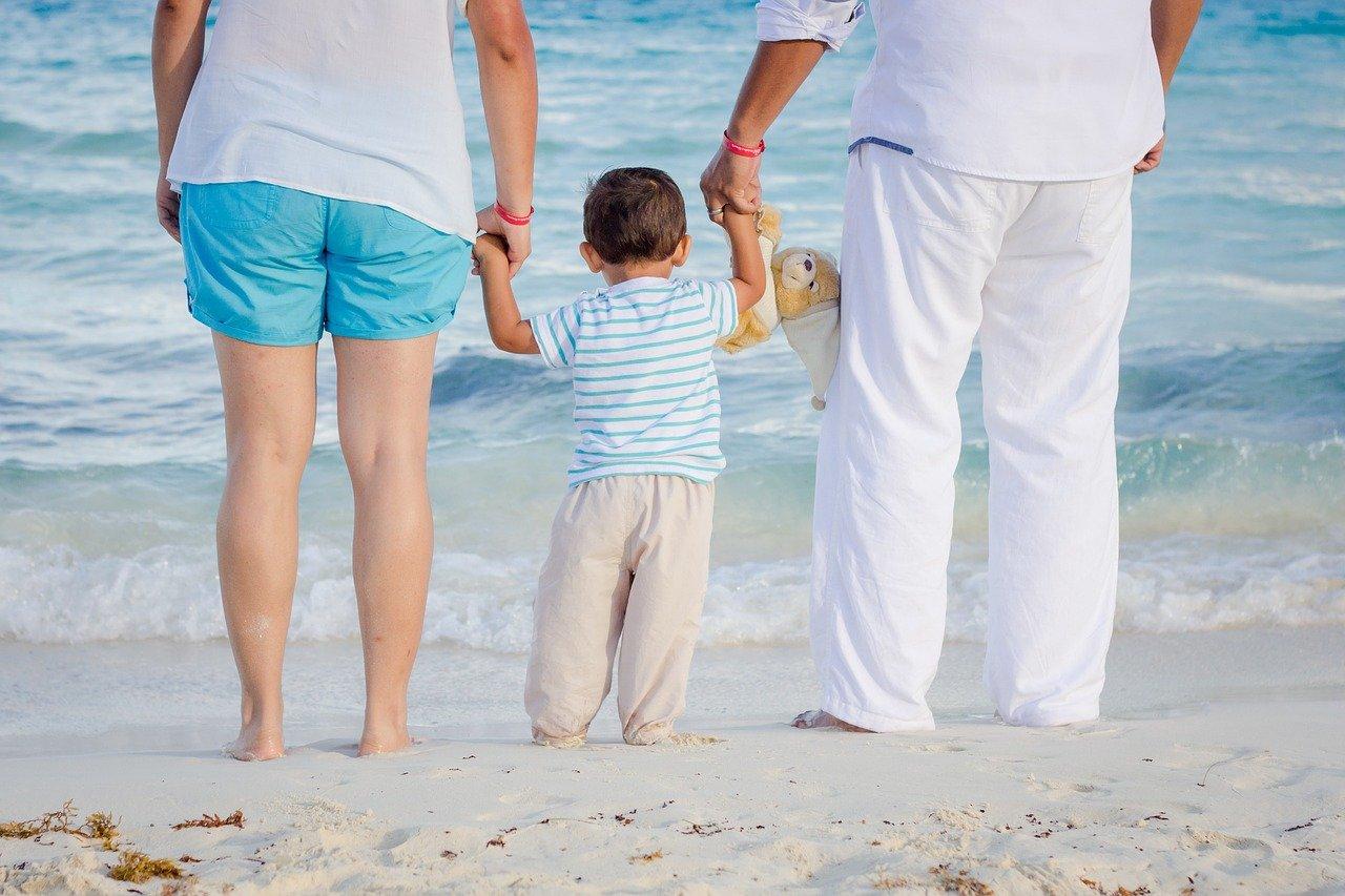 child, family, love